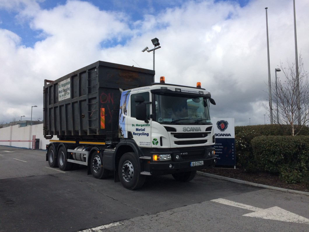 New Scania P410 for St Margarets Metal Recycling
