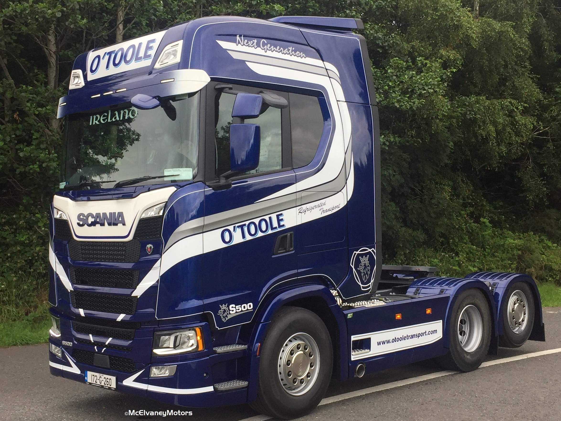 Another New Generation Scania for O'Toole Transport