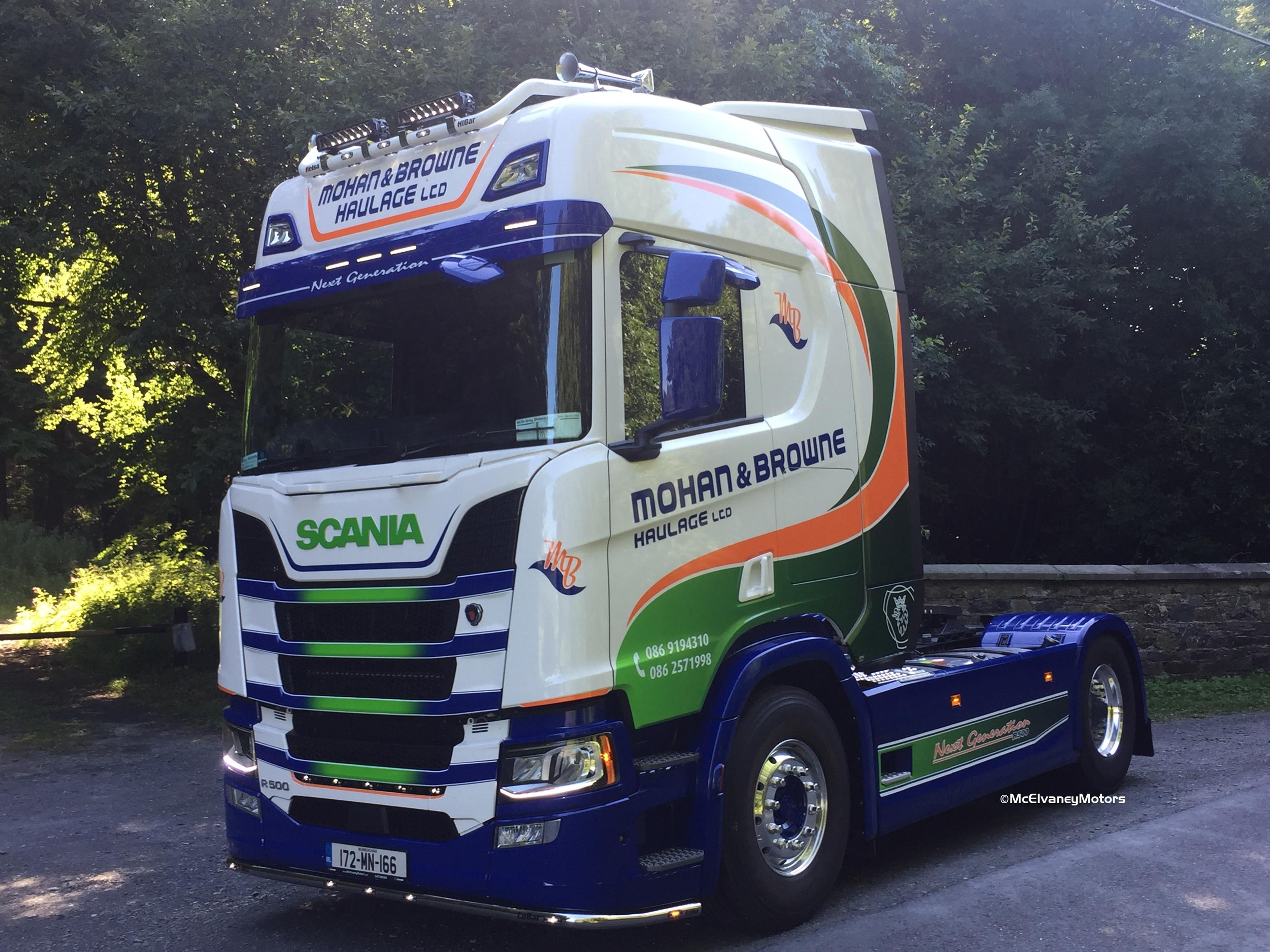 Mohan & Browne Haulage Purchase Stunning New Gen Scania