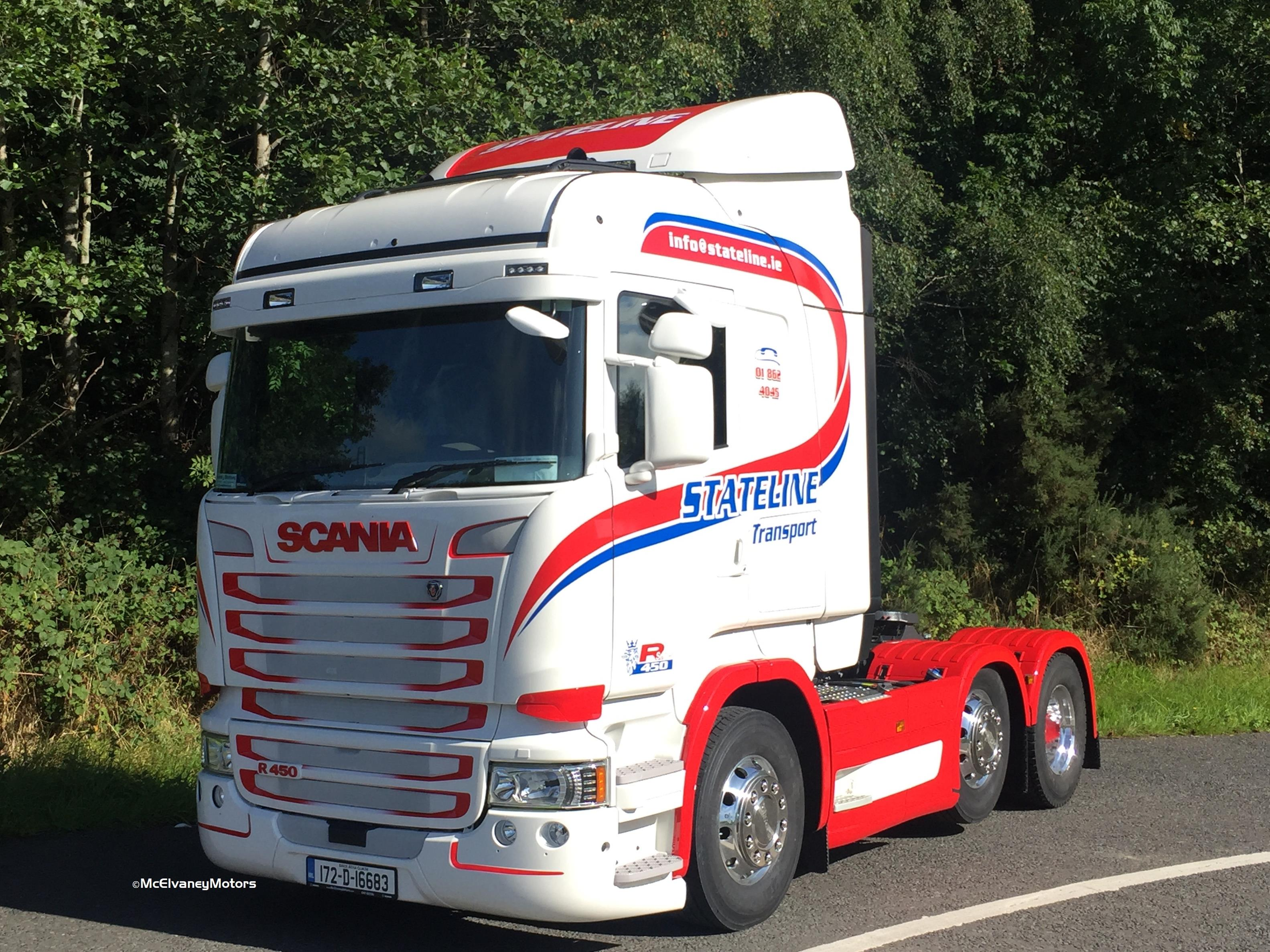 New Scania R450 for Stateline Transport