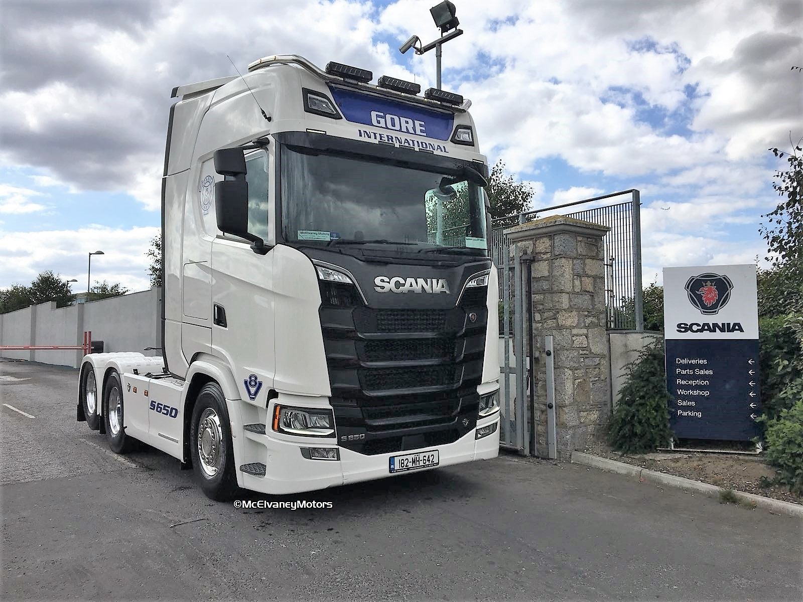 New Gen Scania S650 for Pat Gore!