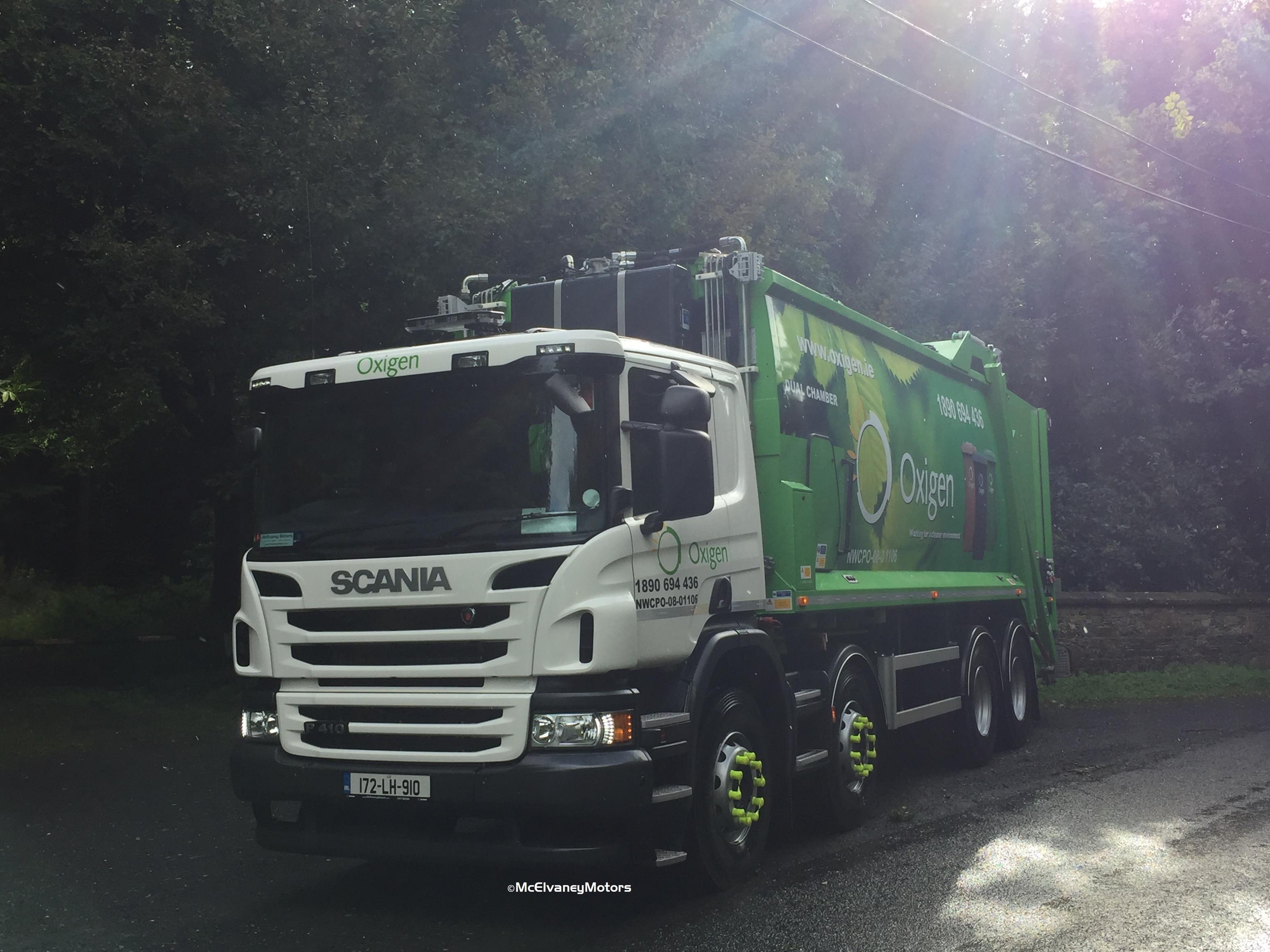 New Scania P410 for Oxigen Environmental