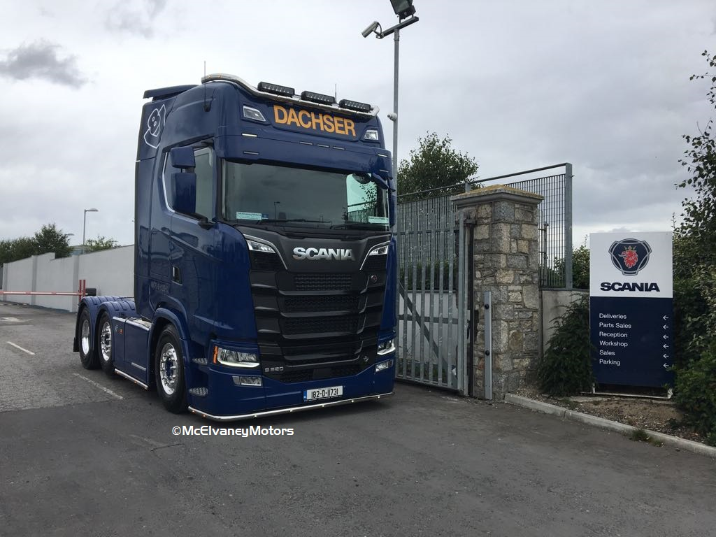 Arthur Scales Chooses New Gen Scania S520
