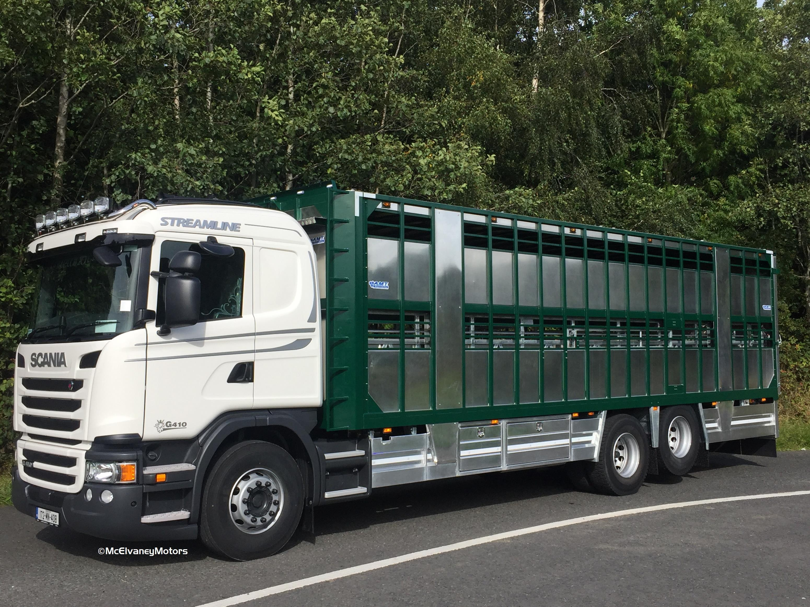 Stunning New Scania G410 for McNally Pig Group!