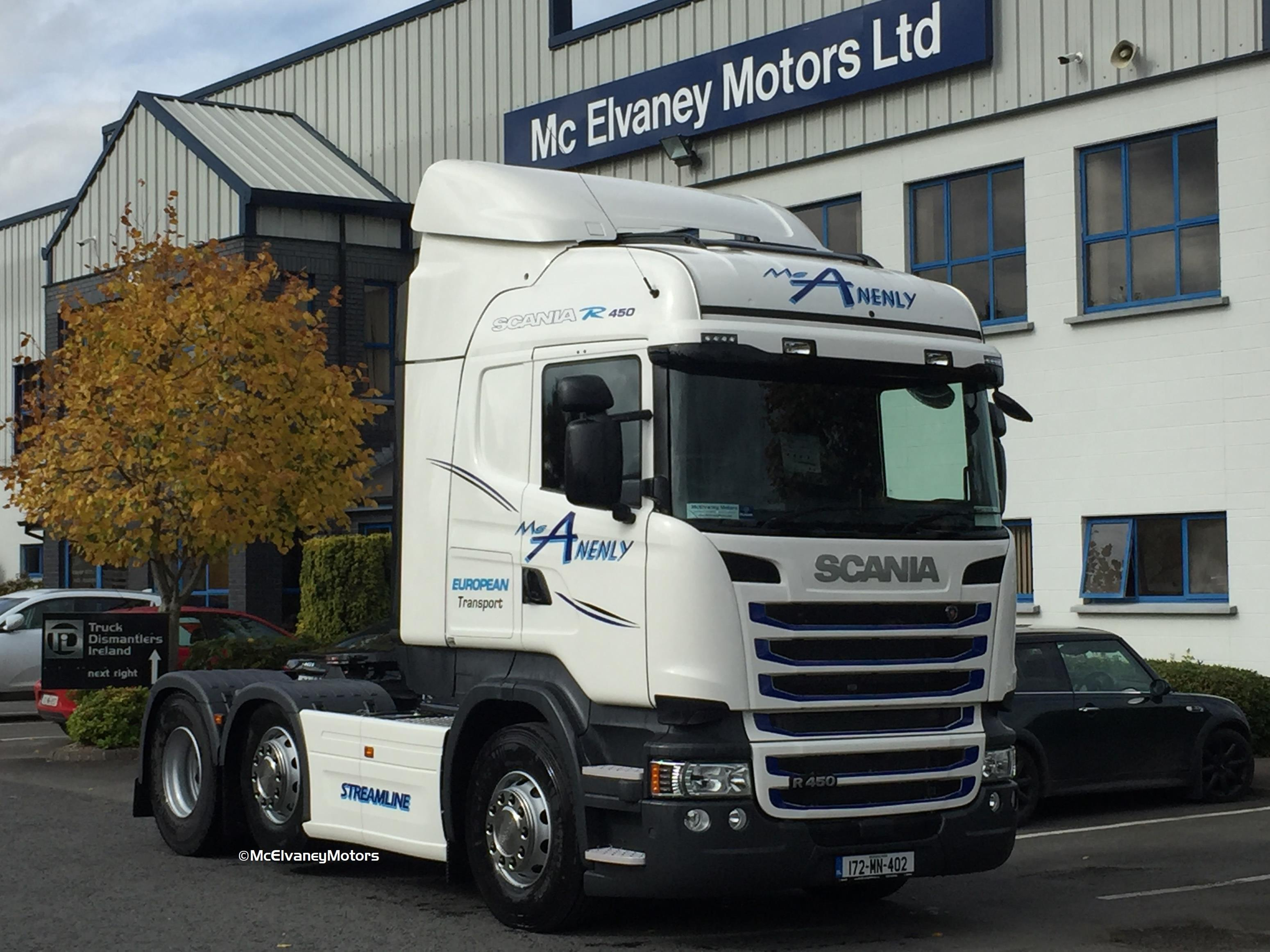 New Scania for McAnenly European Transport