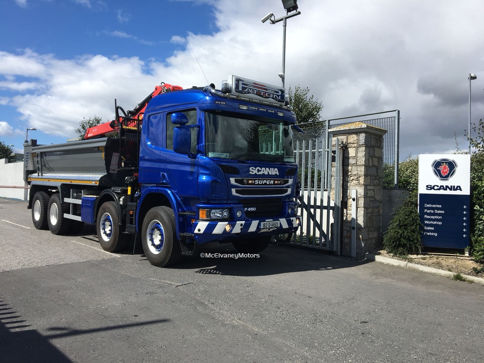 Shanowen Plant Hire Chooses New Scania P450 Tipper