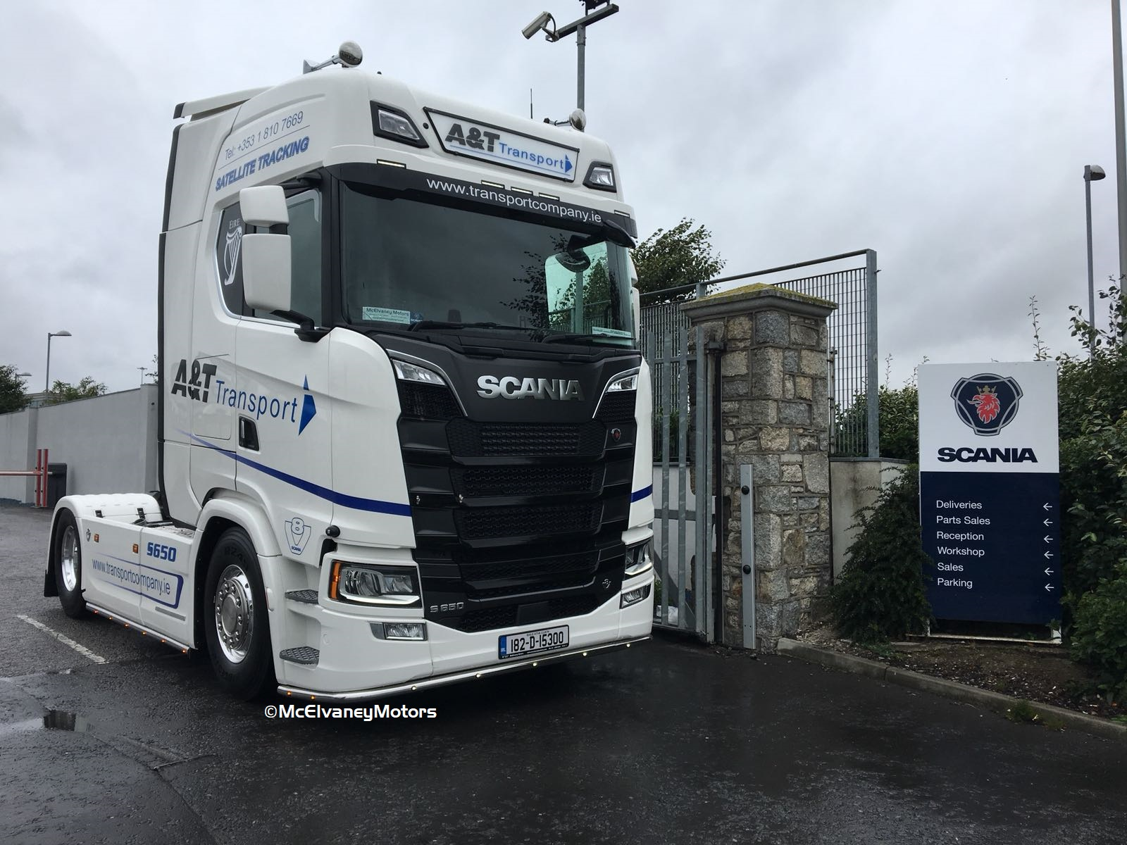 A&T Transport Choose a New Gen Scania S500