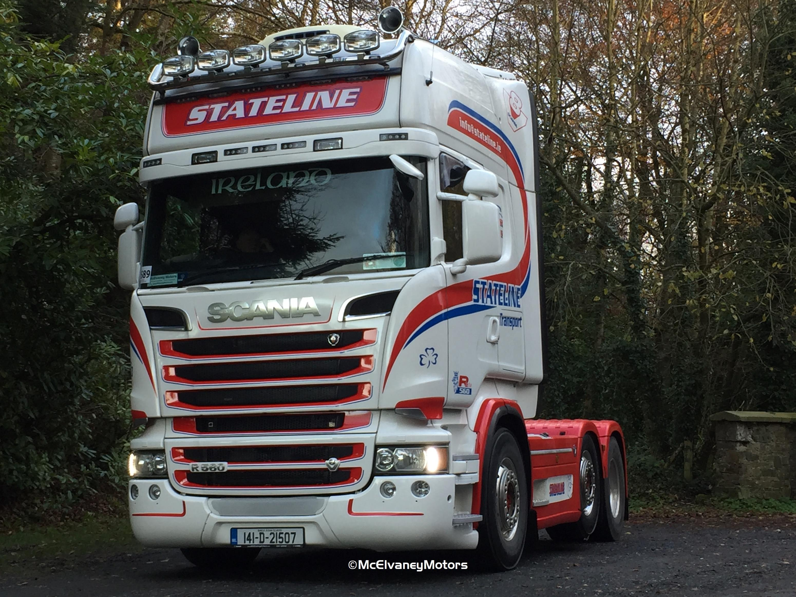 Stunning Scania R560 for Stateline Transport
