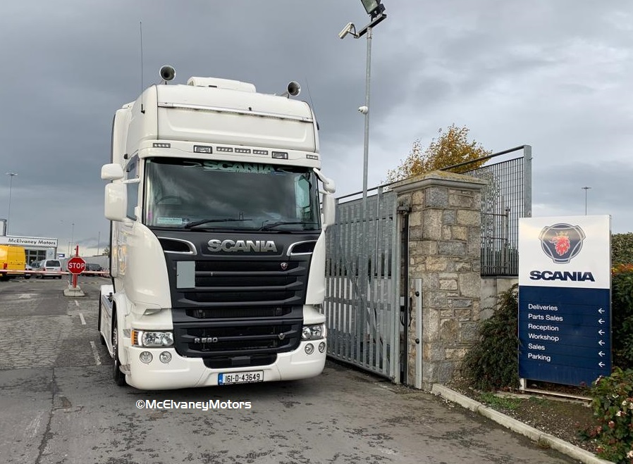 Nelson O'Neill Chooses Scania R580 Crown Edition