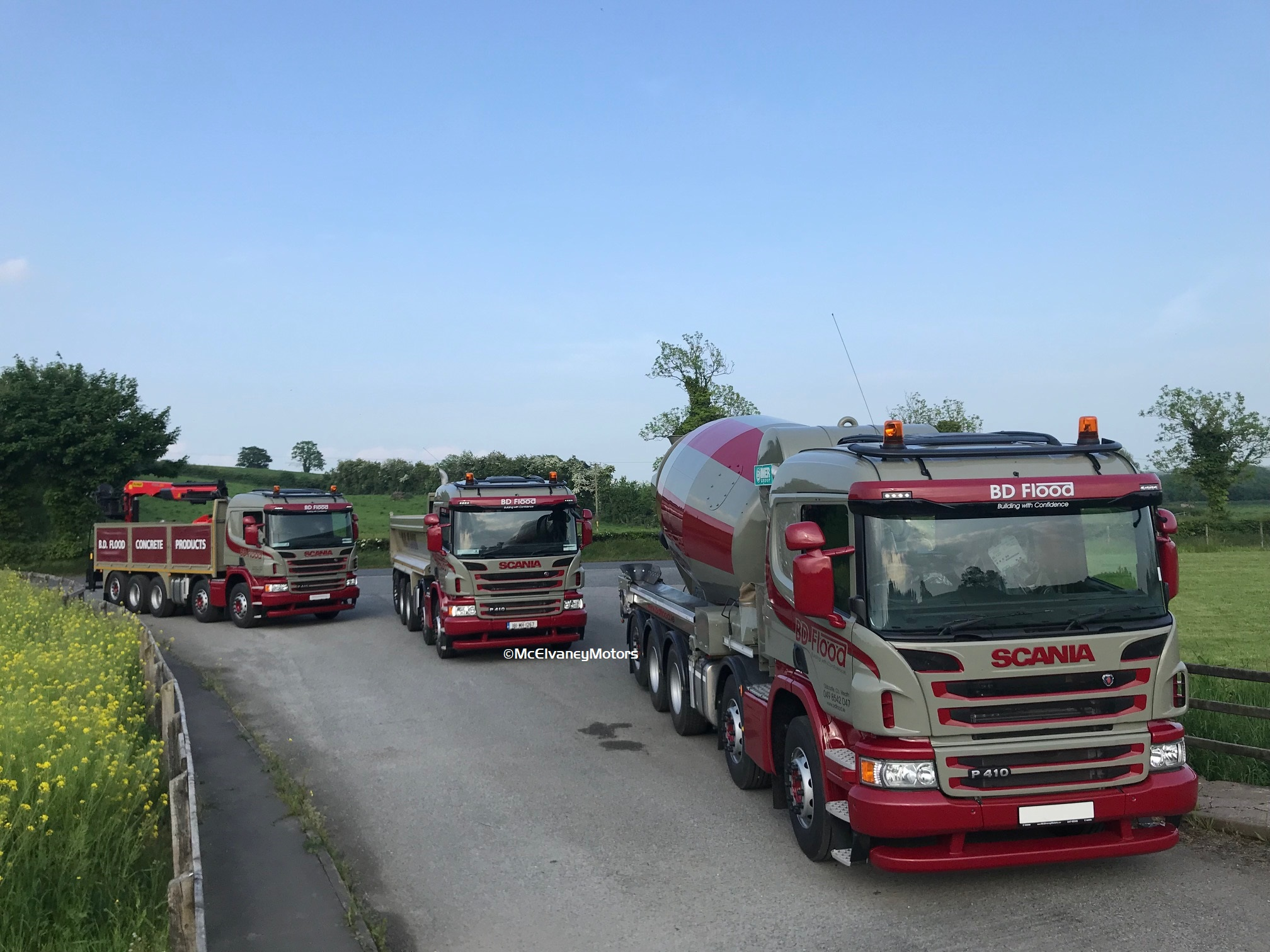 Three New Scania P410s for BD Flood