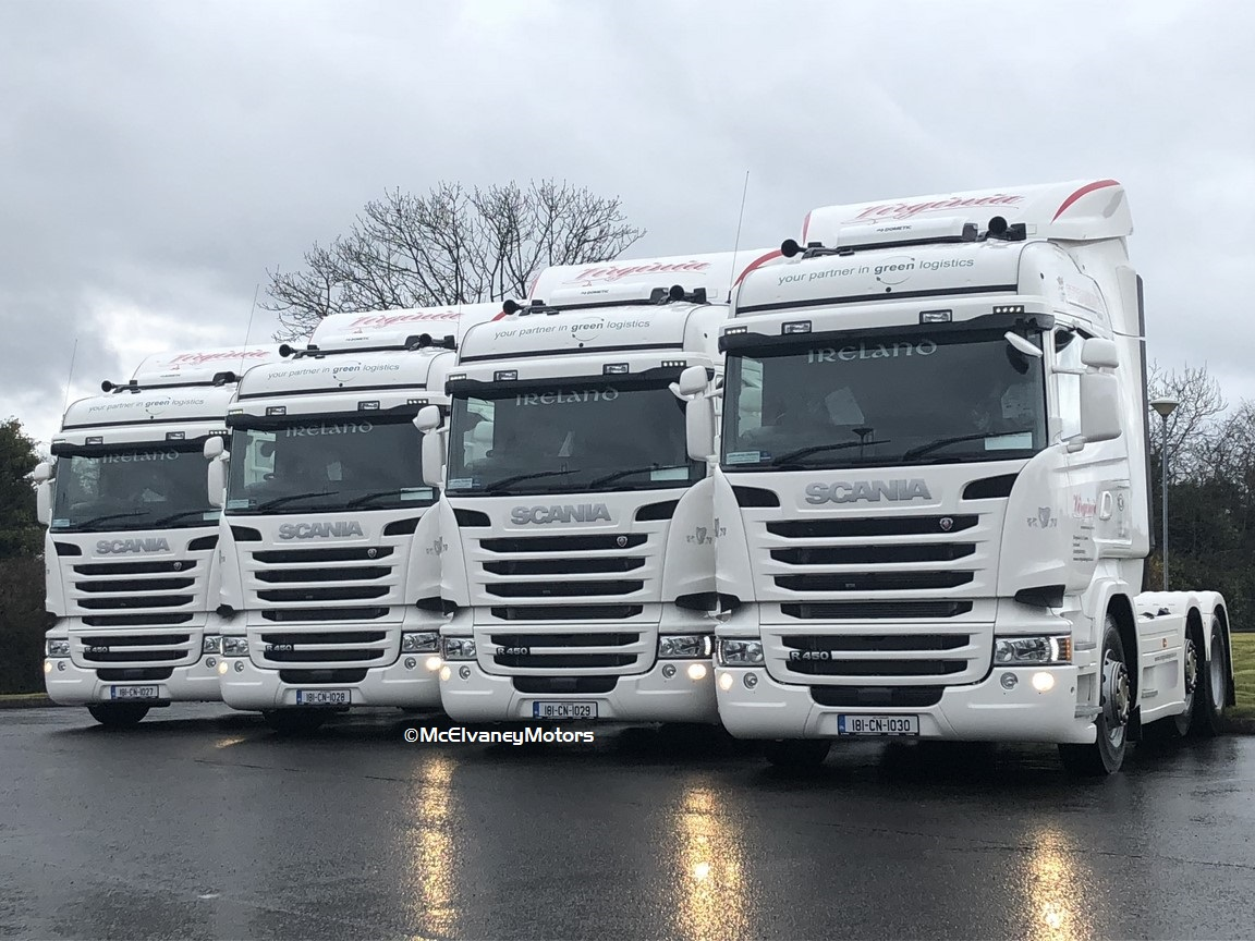 Another Four New Scania R450s for Virginia Transport