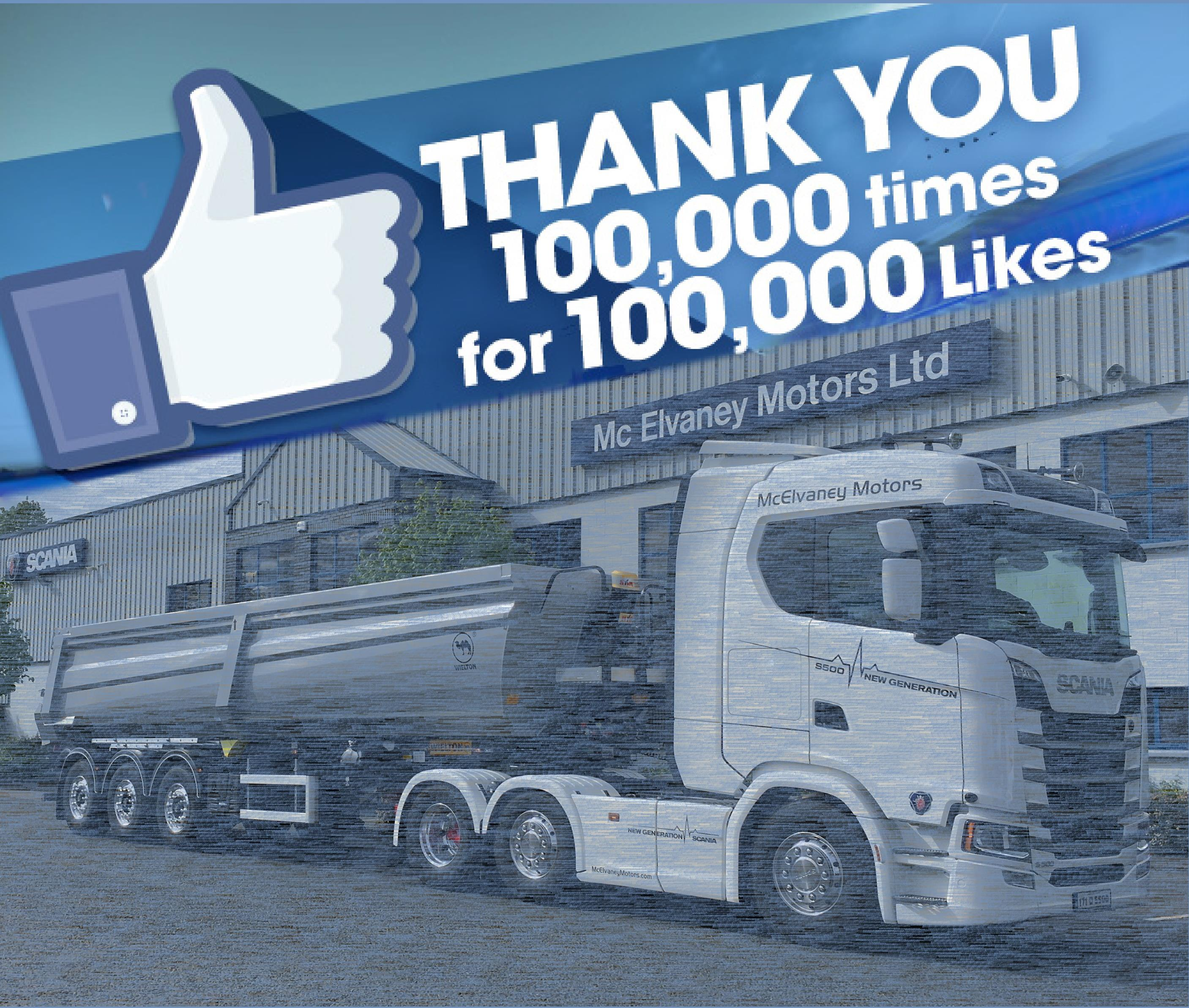 McElvaney Motors Reaches a Milestone on Facebook