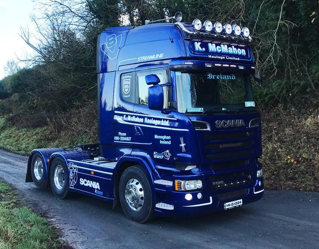 A Scania R620 Tag for K. McMahon