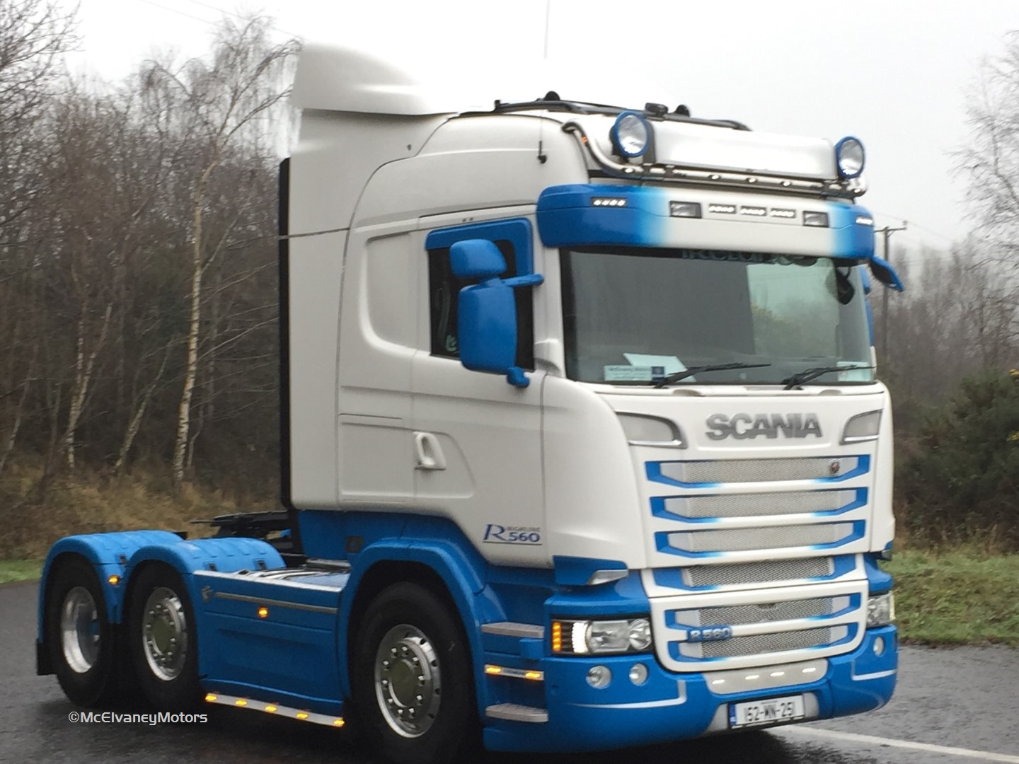 Stunning Scania R560 for Michael Keating!