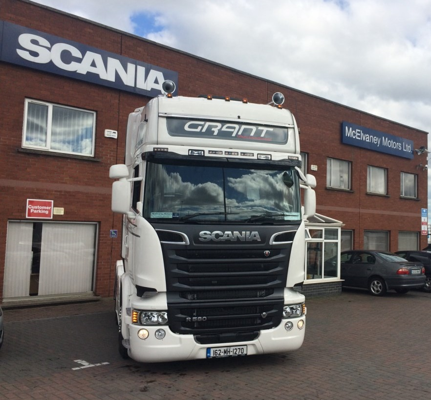 A New Scania R580 for Grant Brothers!