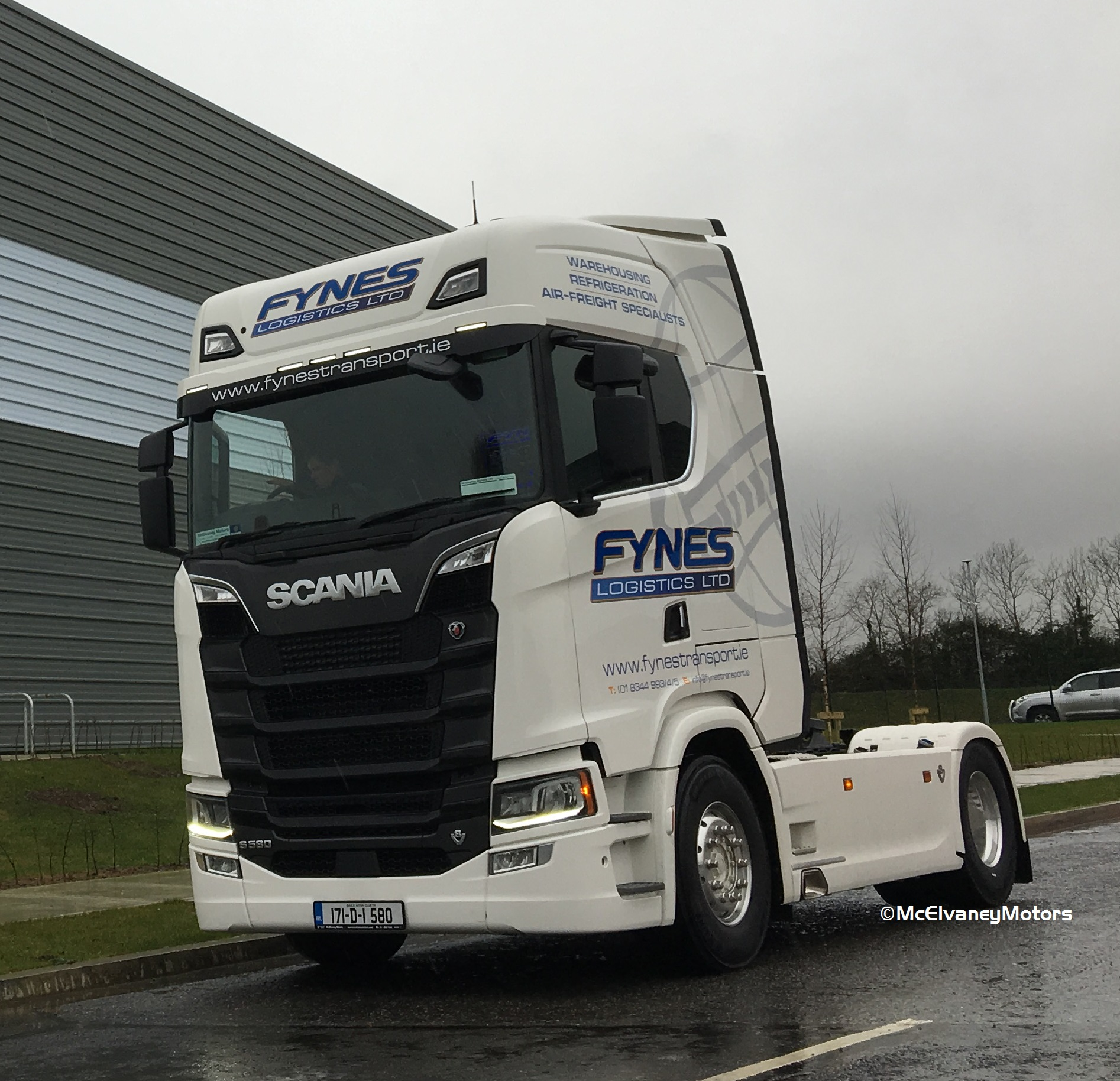 Our First New Generation Scania Delivered!