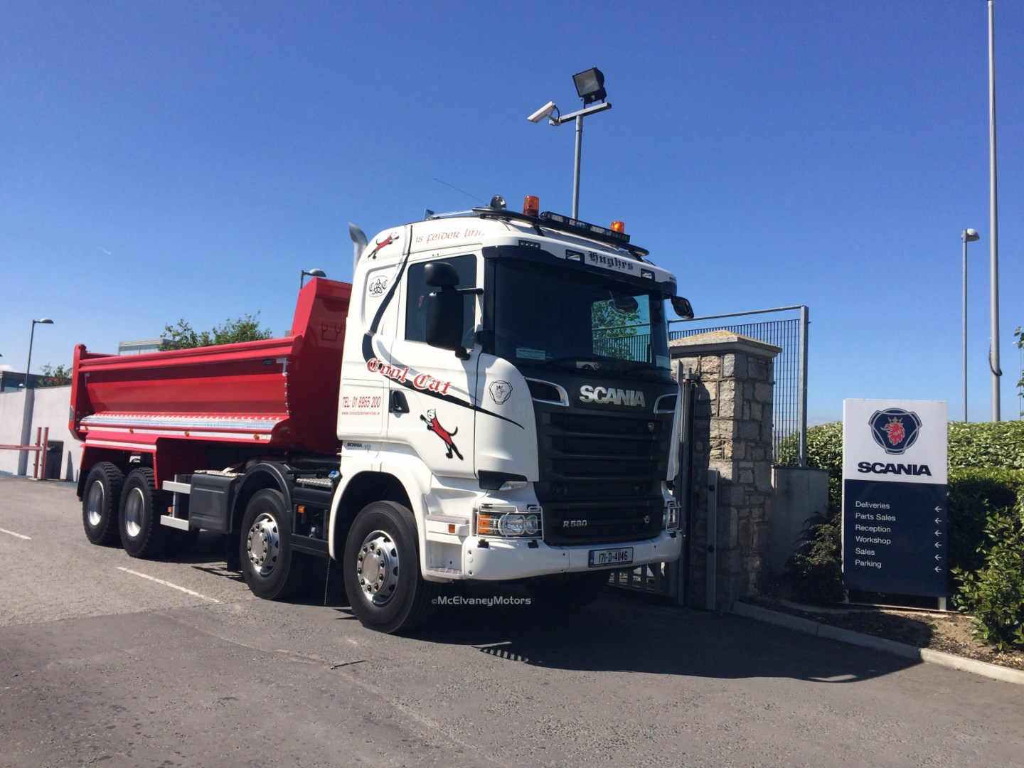RS Plant Hire Chooses a New Scania P410