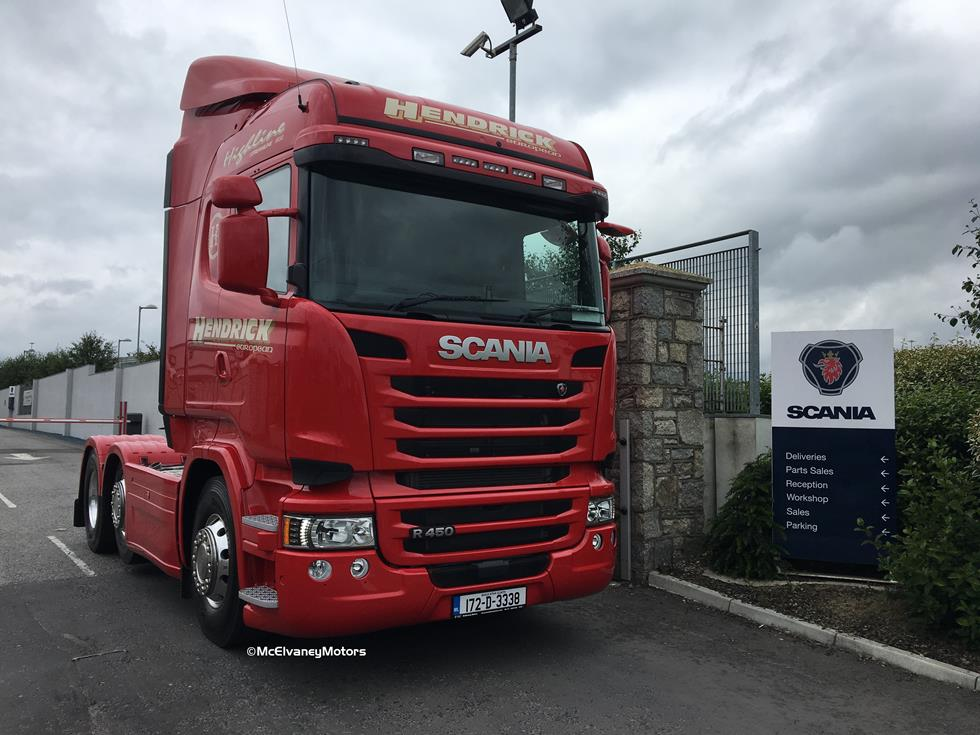 Another Scania R450 Highline for Hendrick European!