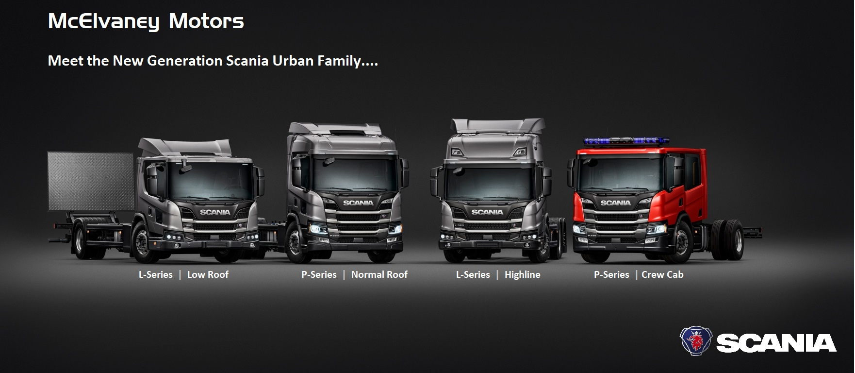 Scania Launches Exciting Urban Series!