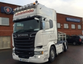 New Scania R560 for Longwood Transport