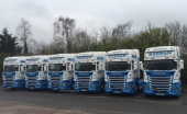 6 New Scanias for Keenan International