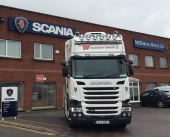 New Scania R450 for Willsborough