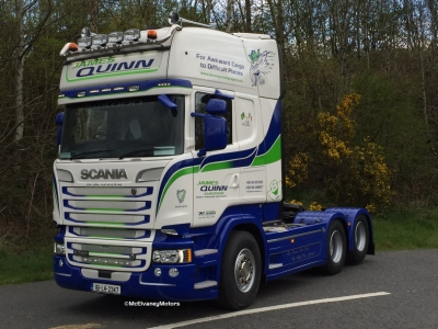 New Scania R580 for James Quinn!